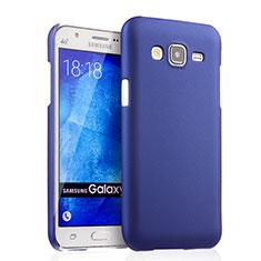 Handyhülle Hülle Kunststoff Schutzhülle Matt für Samsung Galaxy J5 SM-J500F Blau