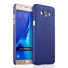 Handyhülle Hülle Kunststoff Schutzhülle Matt für Samsung Galaxy J7 (2016) J710F J710FN Blau