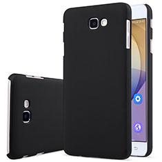 Handyhülle Hülle Kunststoff Schutzhülle Matt für Samsung Galaxy J7 Prime Schwarz