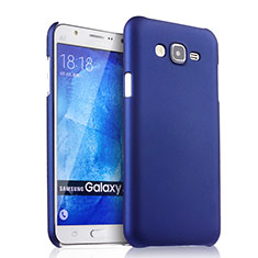 Handyhülle Hülle Kunststoff Schutzhülle Matt für Samsung Galaxy J7 SM-J700F J700H Blau