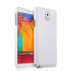 Handyhülle Hülle Kunststoff Schutzhülle Matt für Samsung Galaxy Note 3 N9000 Weiß