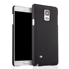 Handyhülle Hülle Kunststoff Schutzhülle Matt für Samsung Galaxy Note 4 Duos N9100 Dual SIM Schwarz