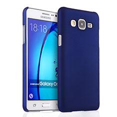 Handyhülle Hülle Kunststoff Schutzhülle Matt für Samsung Galaxy On5 G550FY Blau