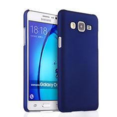 Handyhülle Hülle Kunststoff Schutzhülle Matt für Samsung Galaxy On7 Pro Blau