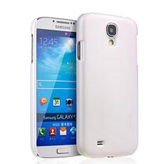 Handyhülle Hülle Kunststoff Schutzhülle Matt für Samsung Galaxy S4 IV Advance i9500 Weiß