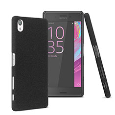 Handyhülle Hülle Kunststoff Schutzhülle Matt für Sony Xperia X Schwarz