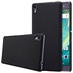 Handyhülle Hülle Kunststoff Schutzhülle Matt für Sony Xperia XA Ultra Schwarz