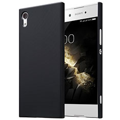Handyhülle Hülle Kunststoff Schutzhülle Matt für Sony Xperia XA1 Schwarz