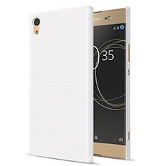 Handyhülle Hülle Kunststoff Schutzhülle Matt für Sony Xperia XA1 Ultra Weiß