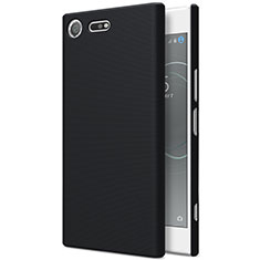 Handyhülle Hülle Kunststoff Schutzhülle Matt für Sony Xperia XZ Premium Schwarz