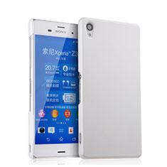 Handyhülle Hülle Kunststoff Schutzhülle Matt für Sony Xperia Z3 Weiß