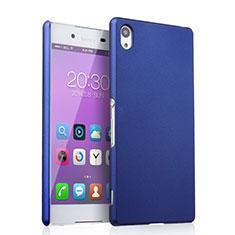 Handyhülle Hülle Kunststoff Schutzhülle Matt für Sony Xperia Z4 Blau