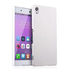Handyhülle Hülle Kunststoff Schutzhülle Matt für Sony Xperia Z4 Weiß