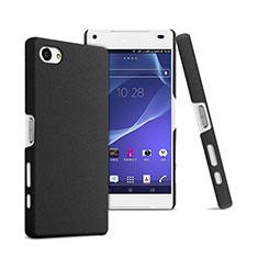 Handyhülle Hülle Kunststoff Schutzhülle Matt für Sony Xperia Z5 Compact Schwarz