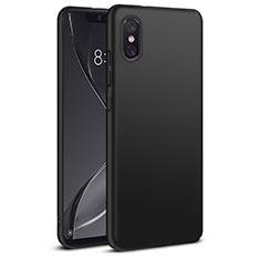 Handyhülle Hülle Kunststoff Schutzhülle Matt für Xiaomi Mi 8 Screen Fingerprint Edition Schwarz