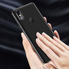 Handyhülle Hülle Kunststoff Schutzhülle Matt für Xiaomi Mi Mix 3 Schwarz
