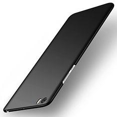 Handyhülle Hülle Kunststoff Schutzhülle Matt für Xiaomi Mi Note Schwarz