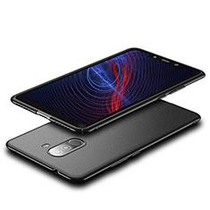 Handyhülle Hülle Kunststoff Schutzhülle Matt für Xiaomi Pocophone F1 Schwarz