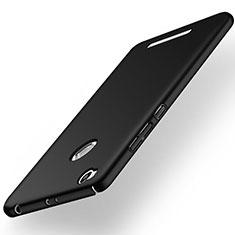 Handyhülle Hülle Kunststoff Schutzhülle Matt für Xiaomi Redmi 3X Schwarz