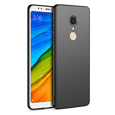 Handyhülle Hülle Kunststoff Schutzhülle Matt für Xiaomi Redmi 5 Schwarz