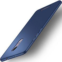 Handyhülle Hülle Kunststoff Schutzhülle Matt für Xiaomi Redmi Note 3 Blau