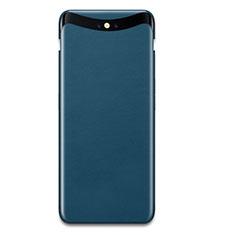 Handyhülle Hülle Kunststoff Schutzhülle Matt Köper für Oppo Find X Blau