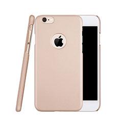 Handyhülle Hülle Kunststoff Schutzhülle Matt Loch für Apple iPhone 6S Rosegold