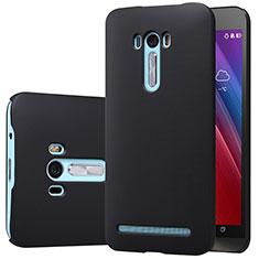 Handyhülle Hülle Kunststoff Schutzhülle Matt M01 für Asus Zenfone Selfie ZD551KL Schwarz