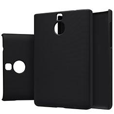 Handyhülle Hülle Kunststoff Schutzhülle Matt M01 für Blackberry Passport Silver Edition Schwarz