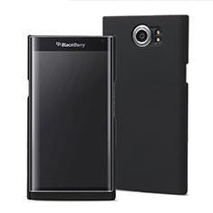 Handyhülle Hülle Kunststoff Schutzhülle Matt M01 für Blackberry Priv Schwarz