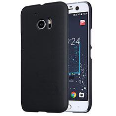 Handyhülle Hülle Kunststoff Schutzhülle Matt M01 für HTC 10 One M10 Schwarz