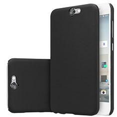 Handyhülle Hülle Kunststoff Schutzhülle Matt M01 für HTC One A9 Schwarz