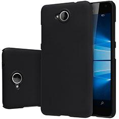 Handyhülle Hülle Kunststoff Schutzhülle Matt M01 für HTC U Play Schwarz