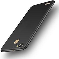 Handyhülle Hülle Kunststoff Schutzhülle Matt M01 für Huawei Enjoy 5S Schwarz