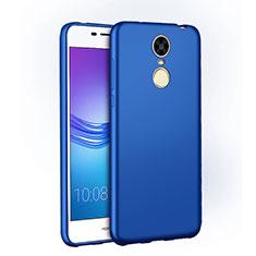 Handyhülle Hülle Kunststoff Schutzhülle Matt M01 für Huawei Enjoy 6 Blau