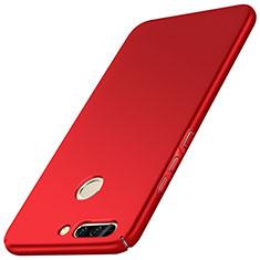 Handyhülle Hülle Kunststoff Schutzhülle Matt M01 für Huawei Honor V9 Rot