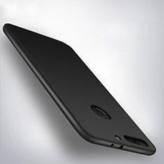 Handyhülle Hülle Kunststoff Schutzhülle Matt M01 für Huawei Honor V9 Schwarz