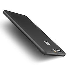 Handyhülle Hülle Kunststoff Schutzhülle Matt M01 für Huawei P9 Plus Schwarz