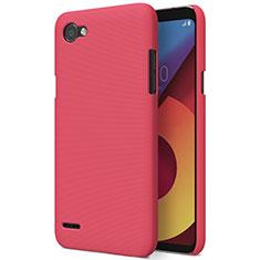 Handyhülle Hülle Kunststoff Schutzhülle Matt M01 für LG Q6 Rot