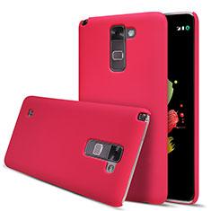 Handyhülle Hülle Kunststoff Schutzhülle Matt M01 für LG Stylus 2 Plus Rot