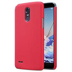 Handyhülle Hülle Kunststoff Schutzhülle Matt M01 für LG Stylus 3 Rot