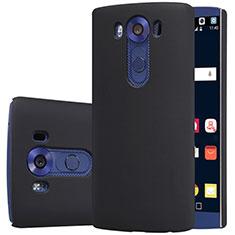 Handyhülle Hülle Kunststoff Schutzhülle Matt M01 für LG V10 Schwarz