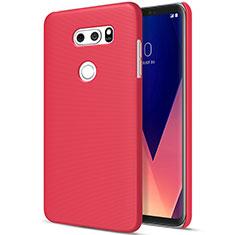 Handyhülle Hülle Kunststoff Schutzhülle Matt M01 für LG V30 Rot