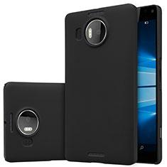 Handyhülle Hülle Kunststoff Schutzhülle Matt M01 für Microsoft Lumia 950 XL Schwarz