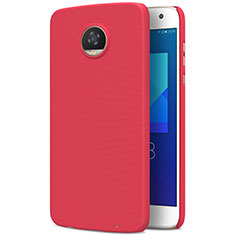 Handyhülle Hülle Kunststoff Schutzhülle Matt M01 für Motorola Moto Z2 Play Rot