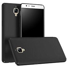 Handyhülle Hülle Kunststoff Schutzhülle Matt M01 für OnePlus 3 Schwarz