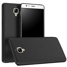 Handyhülle Hülle Kunststoff Schutzhülle Matt M01 für OnePlus 3T Schwarz