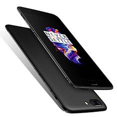 Handyhülle Hülle Kunststoff Schutzhülle Matt M01 für OnePlus 5 Schwarz