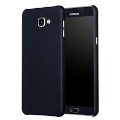 Handyhülle Hülle Kunststoff Schutzhülle Matt M01 für Samsung Galaxy A7 (2017) A720F Schwarz