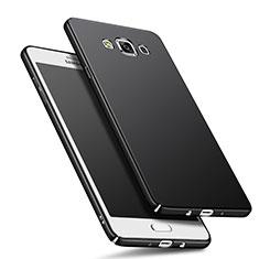 Handyhülle Hülle Kunststoff Schutzhülle Matt M01 für Samsung Galaxy A7 SM-A700 Schwarz